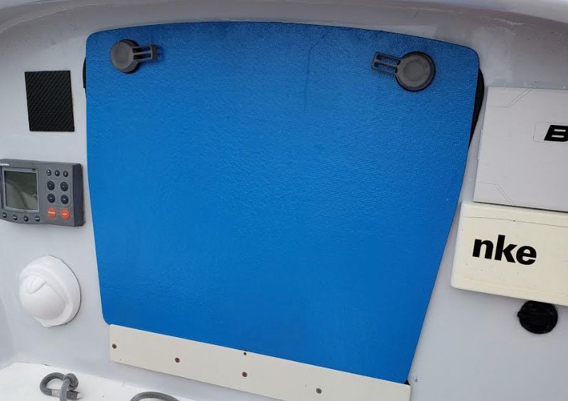Hatch boards:  The retrofit of USA #415 Continued